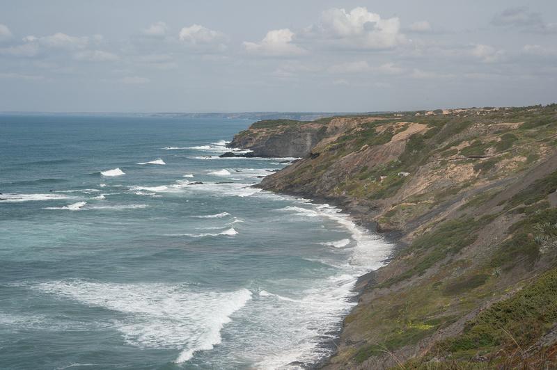 Cliffs at Parque Natural do Sudoeste Alentejano e Costa Vicentina