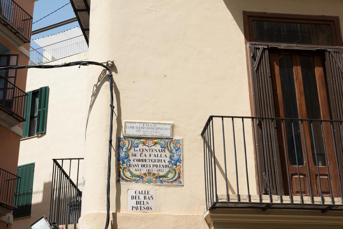 Calle del Ban dels Pavesos Valencia