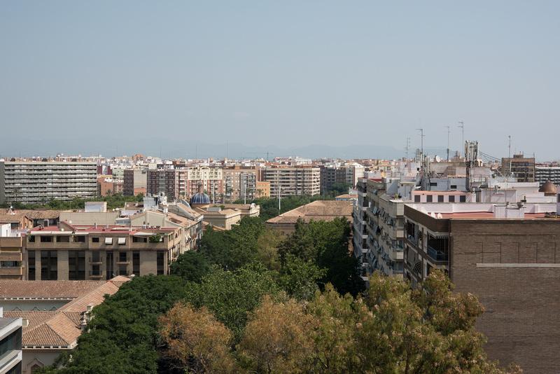 View from Torres de Quart Valencia_