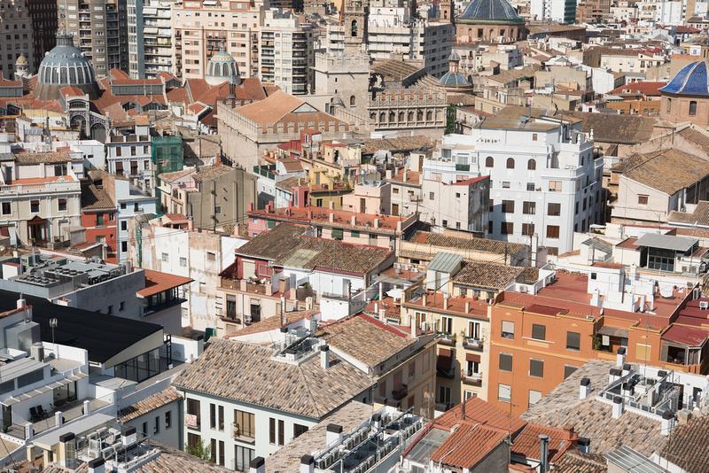 View from Catedral de València