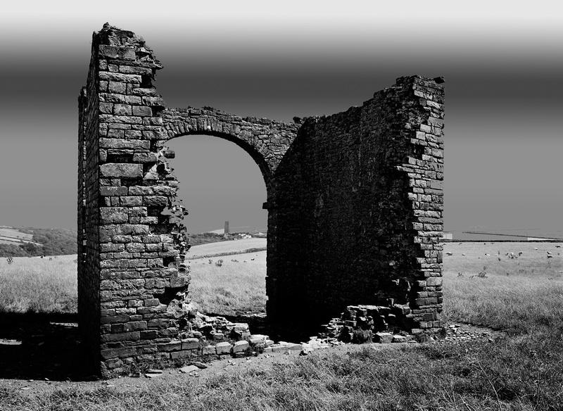 Exmoor Devon ruin