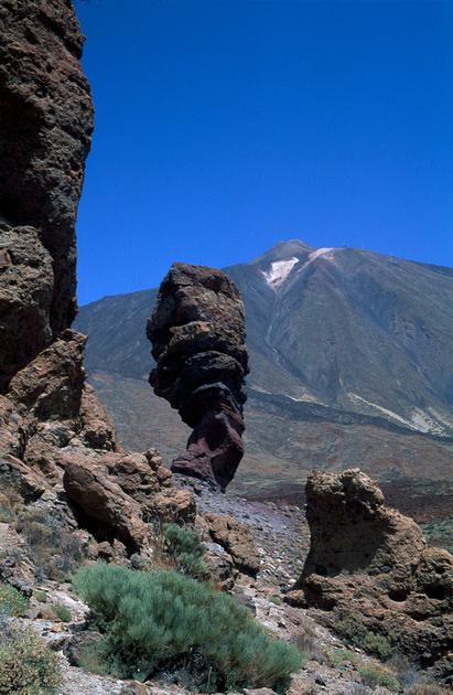 Parque Nacional de las Canadas del Teide, erosion of lava, Tenerife